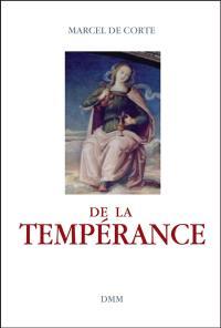 De la tempérance
