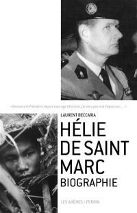Hélie de Saint Marc : biographie