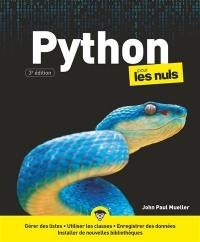 Python pour les nuls