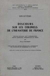 Discours sur les colonels de l'infanterie de France