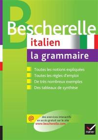 Italien, la grammaire