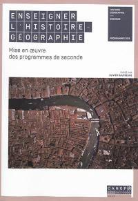 Enseigner l'histoire géographie