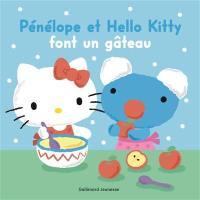 Pénélope et Hello Kitty font un gâteau