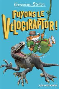 Sur l'île des derniers dinosaures, Fuyons le vélociraptor !