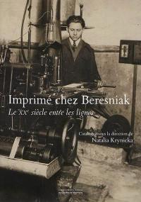 Imprimé chez Beresniak