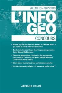 Information géographique (L'). n° 83-1, Concours