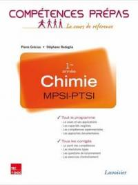 Chimie MPSI-PTSI, 1re année