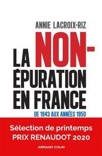 La non-épuration en France
