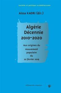Algérie, décennie 2010