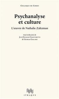 Psychanalyse et culture