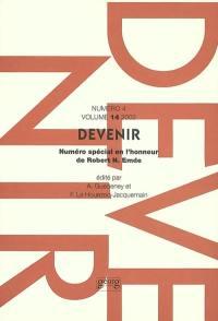 Devenir. n° 4 (2002), Robert N. Emde