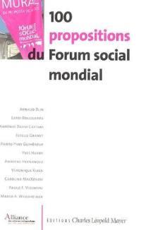 100 propositions du Forum social mondial