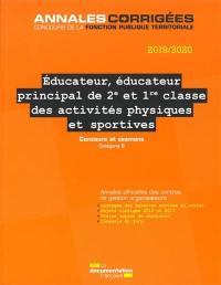 Educateur, éducateur principal de 2e et 1re classe des activités physiques et sportives
