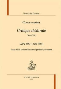 Section VI. Volume 14, Avril 1857-juin 1859