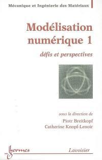 Modélisation numérique. Volume 1,