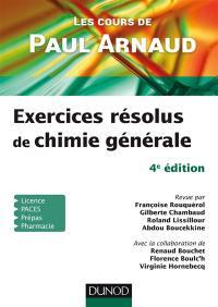 Exercices résolus de chimie générale