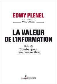 La valeur de l'information.