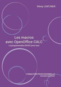 Les macros avec OpenOffice Calc