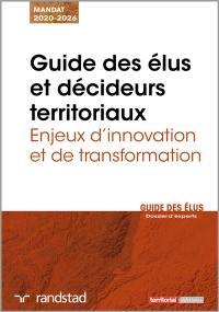Guide des élus et décideurs territoriaux