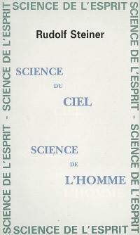 Science du ciel, science de l'homme