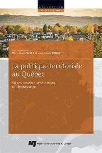 La politique territoriale au Québec