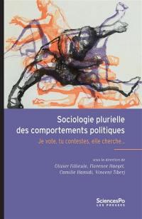 Sociologie plurielle des comportements politiques