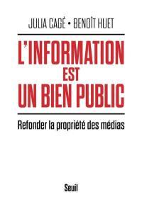 L'information est un bien public