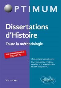 Dissertation d'histoire