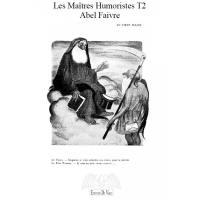 Les maîtres humoristes. Volume 2, Abel Faivre