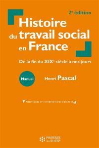 Histoire du travail social en France