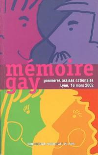 Mémoire gay
