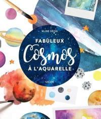 Fabuleux cosmos à l'aquarelle