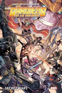 Les gardiens de la galaxie, Secret wars