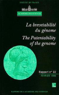 La brevetabilité du génome