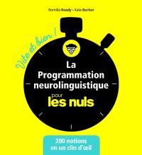 La programmation neurolinguistique pour les nuls