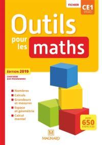Outils pour les maths CE1, cycle 2 : fichier : conforme aux programmes