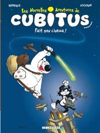 Les nouvelles aventures de Cubitus. Volume 0, Cubitus fait son cinéma !