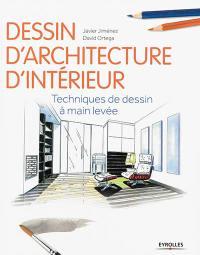 Dessin d'architecture d'intérieur