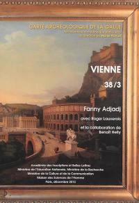Carte archéologique de la Gaule. Volume 38-3, Vienne