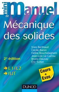 Mini-manuel de mécanique des solides