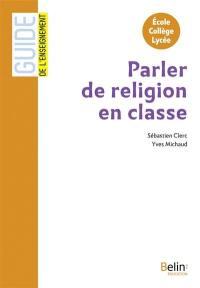 Parler de religion en classe