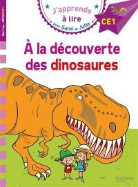 A la découverte des dinosaures
