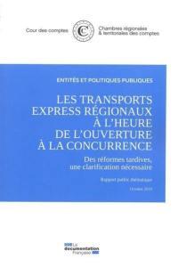 Les transports express régionaux à l'heure de l'ouverture à la concurrence