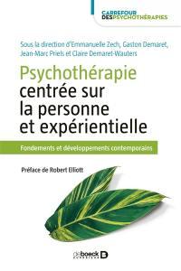 Psychothérapie centrée sur la personne et expérientielle