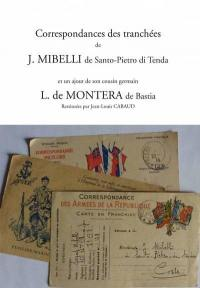 Correspondances des tranchées de J. Mibelli de Santo-Pietro di Tenda