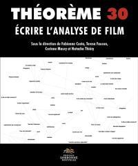 Ecrire l'analyse de film : un enjeu pour l'esthétique
