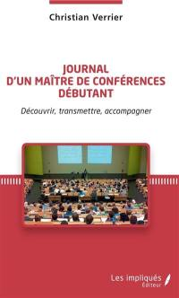 Journal d'un maître de conférences débutant