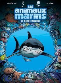 Les animaux marins en bande dessinée. Volume 1,