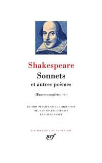 Oeuvres complètes. Volume 8, Sonnets
