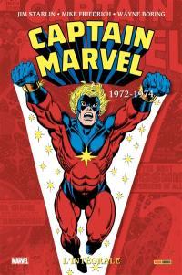 Captain Marvel, 1972-1974